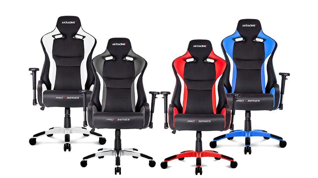 Silla gaming AKRACING PROX de diferentes colores